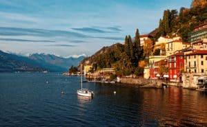 Zurich to Lake Como Italy
