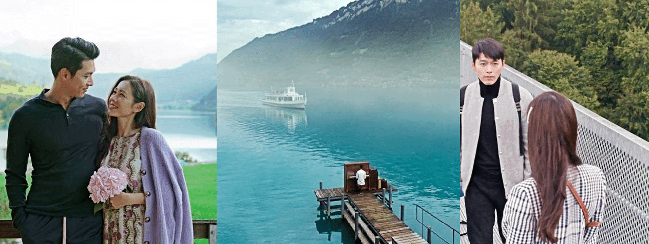 Lake Brienz, Switzerland - Crash Landing On You